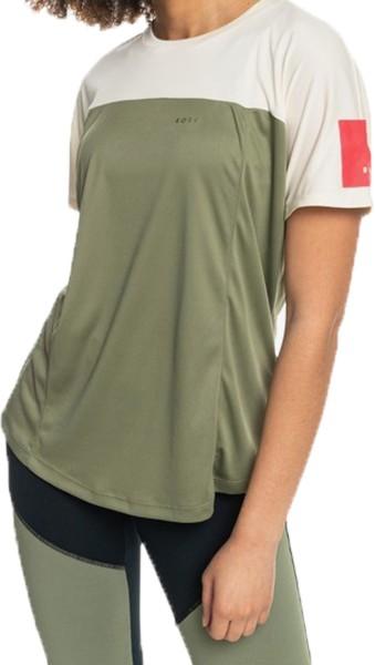 earth gng J KTTP TPC0 - Roxy - DEEP LICHEN GREEN - Fitnessshirt