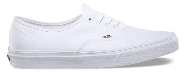 U AUTHENTIC - Schuhe - Vans - Unisex - True White