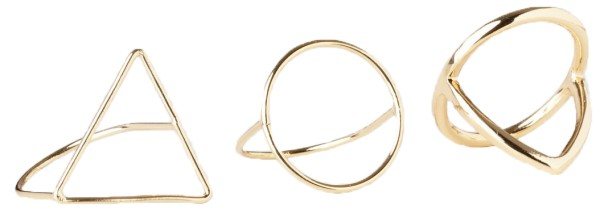 Cheap Monday - Outline Rings - Accessories - Schmuck - Ringe - Gold