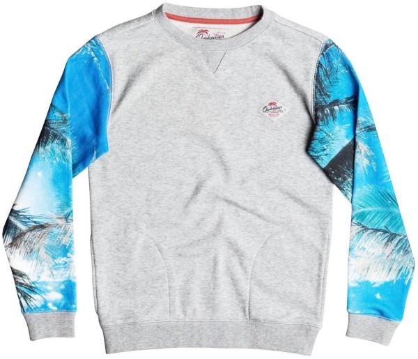 Quiksilver - Grab and Go - Kinder - Sweatshirt - Light Grey Heather