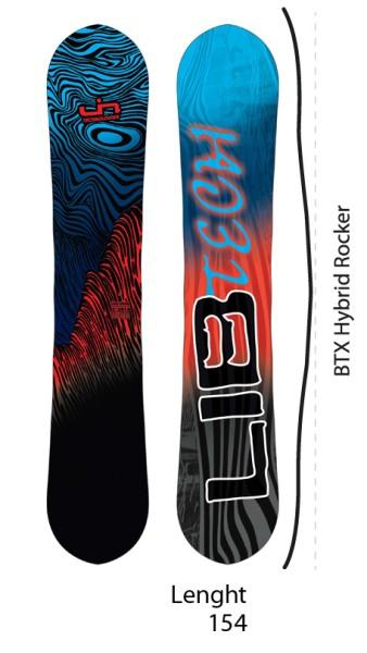 Lib Tech - Sk8 Banana - Boards & Co - Snowboards - Snowboards - All Mountain RC Hybrid - fade