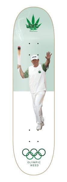 Weed Nation Olympic Weed 8.25 - Jart - Weed Nation -  Skatedecks