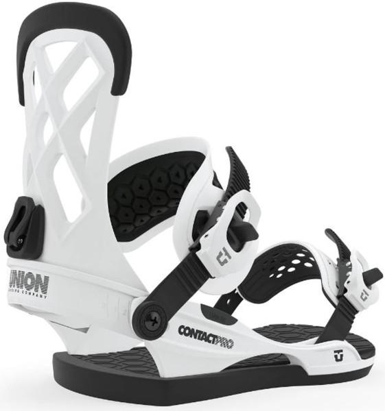 Contact Pro - Union - white - Snowboard Bindung