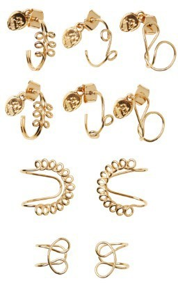 Cheap Monday - Yoof - Damen - Gold - GOLD - Earrings - Ohrringe