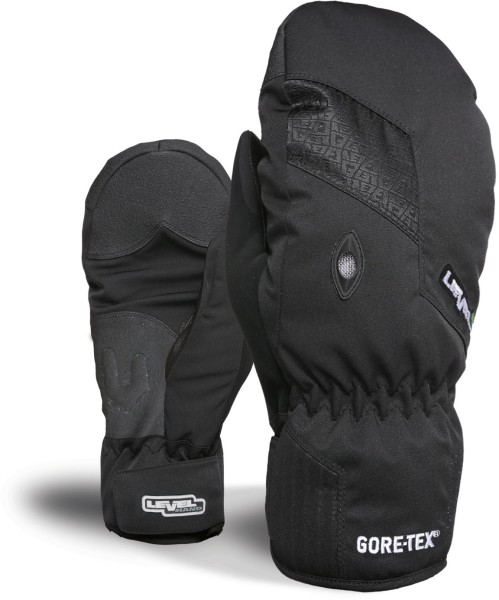 Level - Matrix Mitt - black - schwarz - level handschuhe für damen - fäustlinge damen level