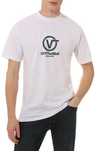 Vans - Distorted Performance - Streetwear - Shirts & Tops - Shirts und Tops - T-Shirt - white