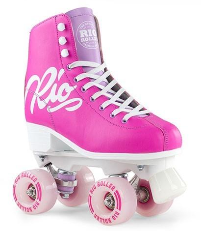 Rio Roller - Script - Damen - Rollschuhe - Pink/Lilac