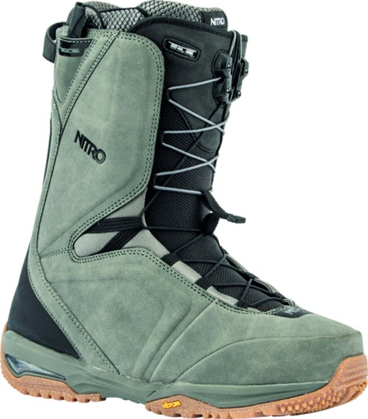 Team TLS - Nitro - charcoal - Snowboard Schuh