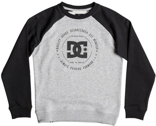 DC - Rebuilt Reglan - Kinder Sweatshirt - Black/Grey Heather