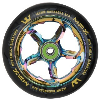 MGP - MFX RWilly Signature 120 mm - Rolle - Scooter - Wheel - Neo Chrome