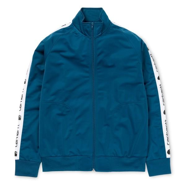 Carhartt - Goodwin Track Jacket - Corse - blau - Streetwear - Jacken - Übergangsjacken