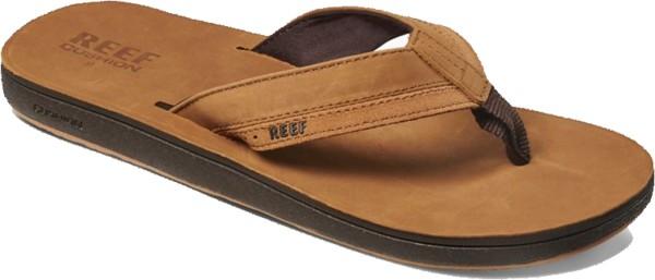 Reef - Leather Contoured Cushion - Schuhe - Sandalen/FlipFlops - Flip Flops - TAN
