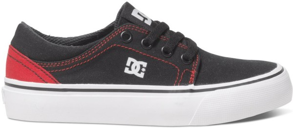 DC - Trase TX - Skateschuh - Kids - Black / Red
