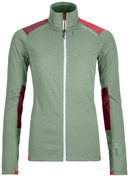 Ortovox - Fleece Light Grid Jacket - green - Snowwear - Fleecejacken - Fleecejacken