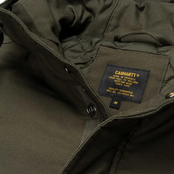 Carhartt - Clash Parka - Cypress - grün - Streetwear - Jacken - Parka