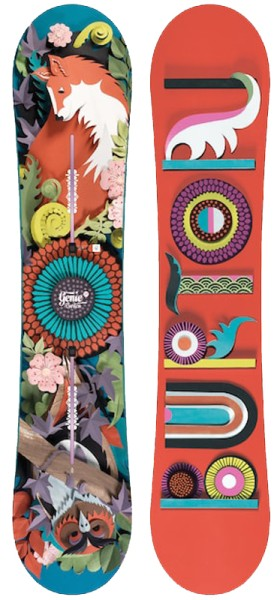 Burton .- Genie - Boards & Co  -  Snowboards  -  Snowboards  -  All Mountain Zero - no color