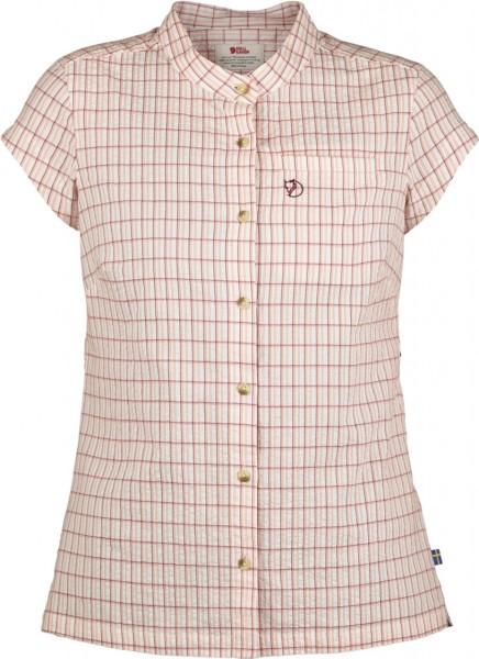 Fjällräven - Övik Seesucker - Streetwea - Shirts & Tops - T-Shirts- plum