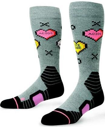 Stance - Candy - Snowwear - Funktionswäsche - Technische Socken - grey