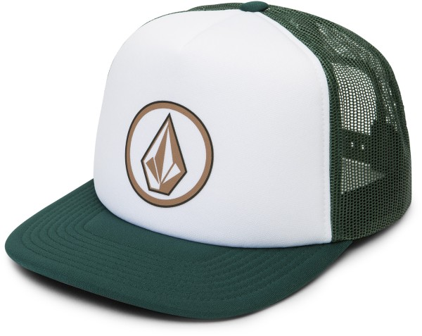 Volcom - Full Frontal Cheese - Accessories - Caps - Trucker Caps - thyme green