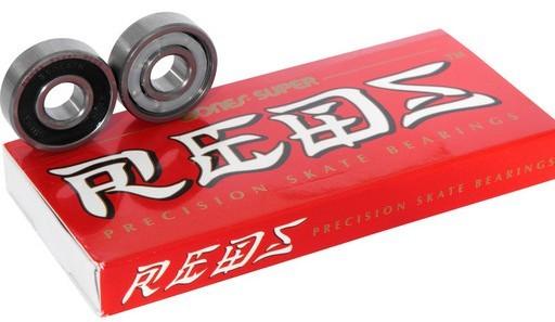 Bones - Super Reds - Skateboard - Zubehör - Kugellager - Bearrings