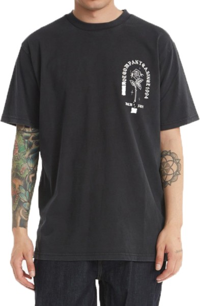SINGLED OUT HSS M TEES BAC
