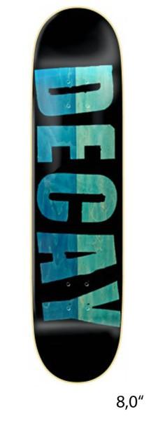 Decay - Reverse Bold Split - Boards & Co - Skateboard - Skateboard Decks - Skatedecks - black/green