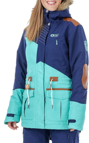 Picture - Apply 2.0 Jacket - Snowwear  -  Funktionsjacken  -  Snowboardjacken - Dark blue/gr