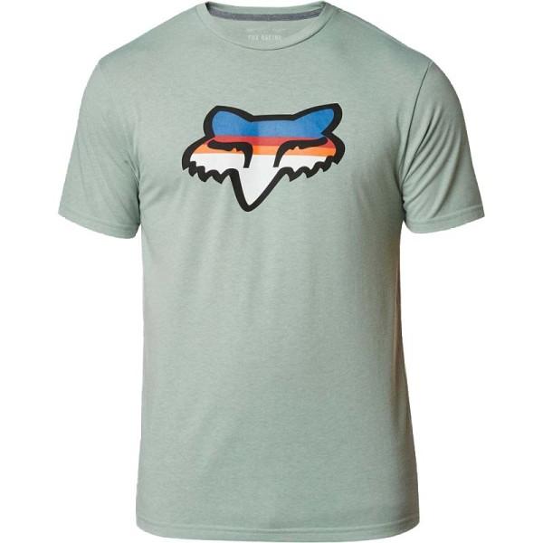 HEAD STRIKE SS TECH TEE - Fox - EUCALYPTUS - T-Shirt