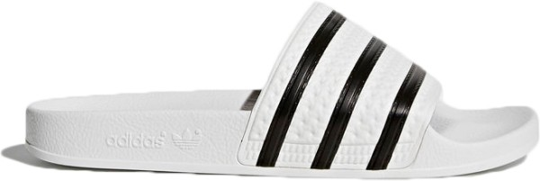 Adidas - Adilette - Schuhe - Sandalen/FlipFlops - Flip Flops - White/Core Black/White