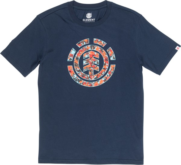 Element - Multi Icon - Streetwear - Shirts & Tops - Shirts und Tops - T-Shirt Langarm - eclipse navy
