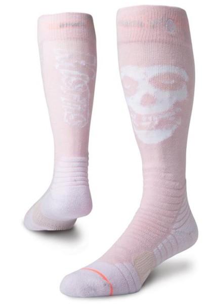 Misfit Snow W - Stance - Damen - Pink - Snowwear - Funktionswäsche - Technische Socken