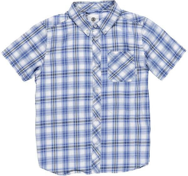 Element - Buffalo SS - Streetwear - Hemden - Hemden Kurzarm - olympian blue