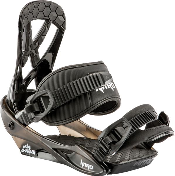 Nitro - Charger Mini - Boards & Co - Snowboards - Snowboard Bindungen - Snowboardbindungen - black