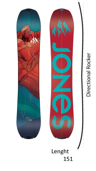 Jones - Dream Catcher Split - Boards & Co - Snowboards - Snowboards - Splitboards - no color