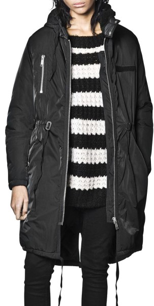 Cheap Monday - Search Parka - black - schwarz - schwarzer Parka - Cheap Monday Jacke - Cheap Monday Parka - Übergangsjacke