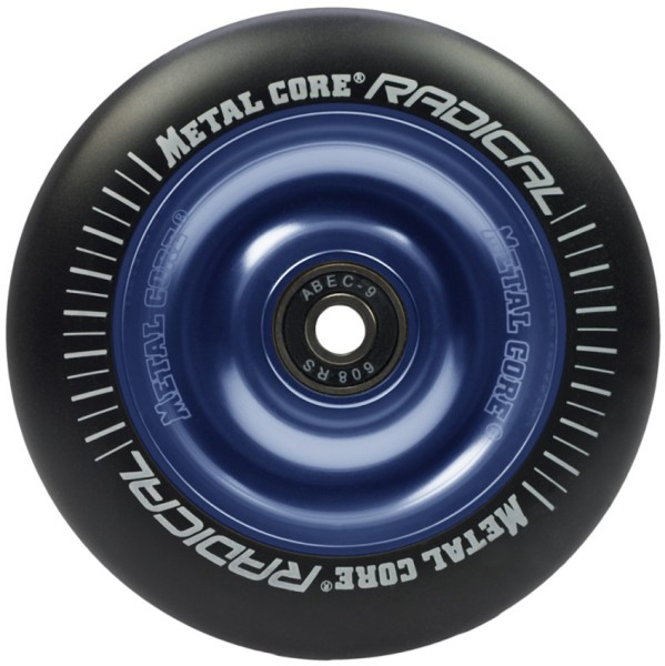 Metal Core - Radical B 110 - Boards & Co  -  Scooter  -  Parts Scooter  -  Wheels Scooter - Black/Blue