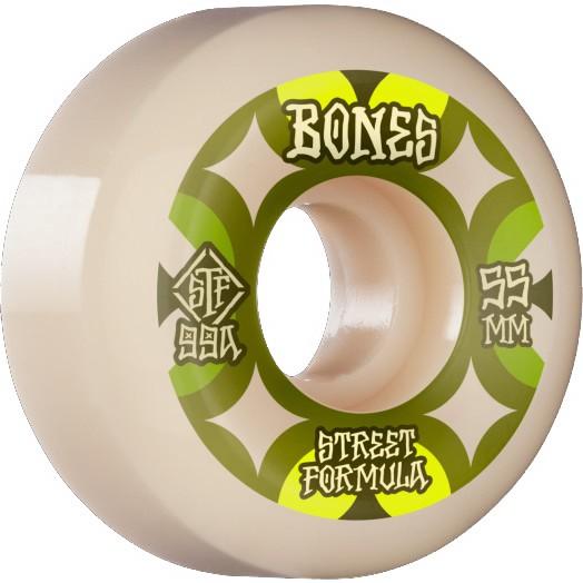 Bones - STF Retros 99A V5 Sidecut - White - SB Rollen-Wheels