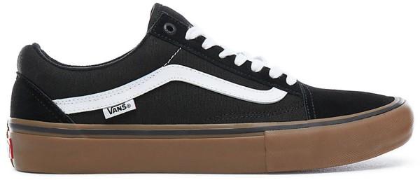 Vans - Old skool Pro - Schuhe  -  Sportschuhe  -  Skateschuhe - Black/white/gum