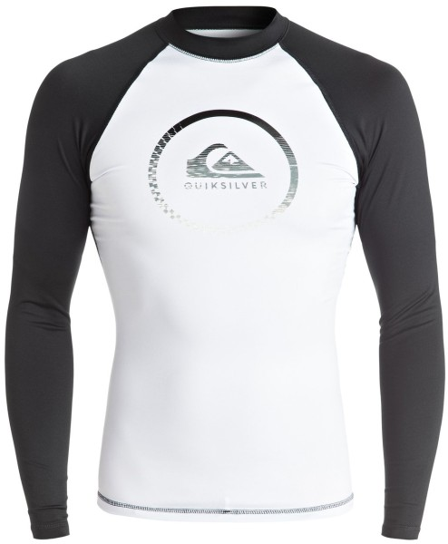 Quiksilver - Active - Boards & Co - Surf & Wakeboard - Neoprens - Lycra Shirts - white/black