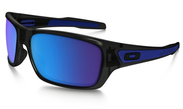Oakley - Turbine - Sonnenbrille - black ink sapphiere iridium