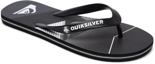 Quiksilver - Moloslashfadelo - Schuhe - Sandalen/FlipFlops - Flip Flops - black/black/grey