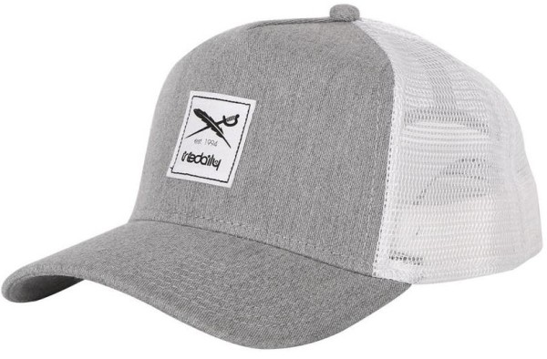 Iriedaily - Daily Flag Mesh Cap - Accessories - Caps - Trucker Caps - Grey-mel.
