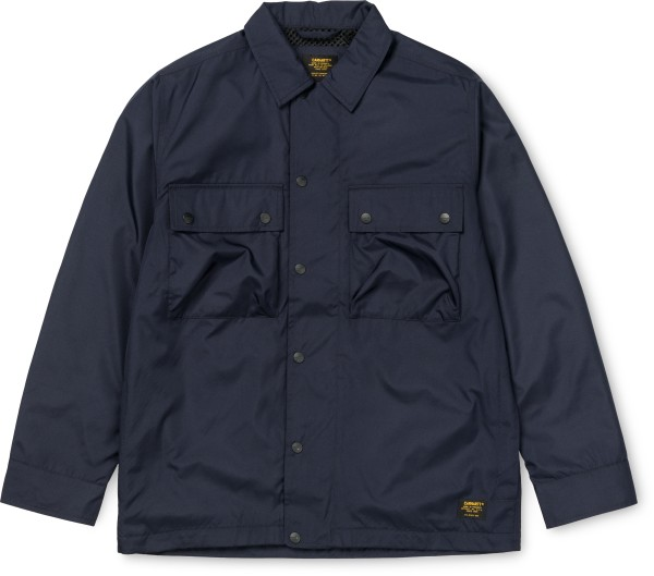 Carhartt - Fargo Shirt Jac - Dark Navy - Übergangsjacken