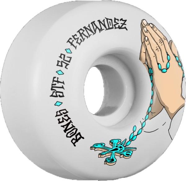 Bones - STF Fernandez Prayer - Boards & Co - Skateboard - Skateboard Wheels - SB Rollen-Wheels - white