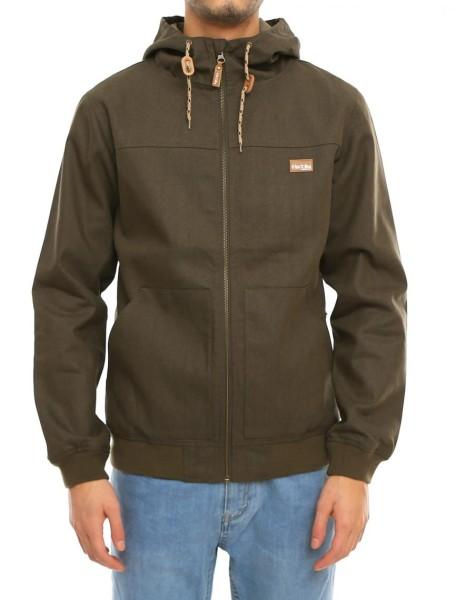 Iriedaily - Kreuzdock Jacket - Streetwear - Jacken - Übergangsjacken - olive