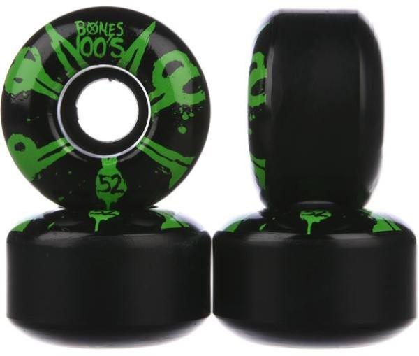 Bones - 100s OG - Boards & Co - Skateboard - Skateboard Wheels - SB Rollen-Wheels - black green