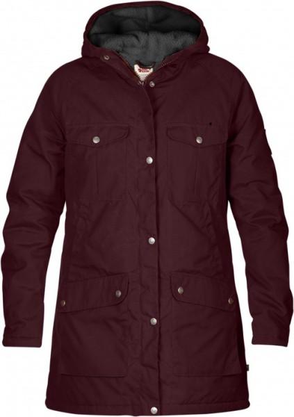 Fjällräven - Greenland - Streetwear - Jacken - Parka - dark garnet