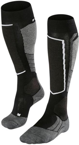 Falke - Sk2 Wool - Snowwear - Funktionswäsche - Technische Socken - black mix