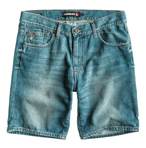 KRACKER SHORT M DNST BLQW - Hose - Quiksilver - Worn Out