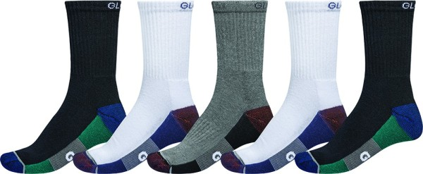 EVAN CREW SPORT SOCK - Socken - Globe - White-Navy-Black